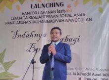 Peresmsian KL LKSA Panti ASuhan Muhammadiyah Nanggulan