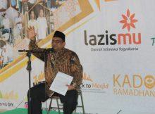 Pengajian songsong ramadhan oleh Ustad M. Wiharto, S.Sy., S.Pd.I., M.A, pentasyarufan, 100 paket sembako