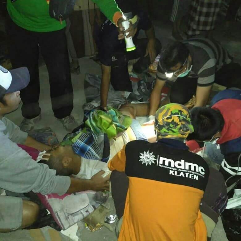 Respon MDMC untuk korban gempa bumi di lombok