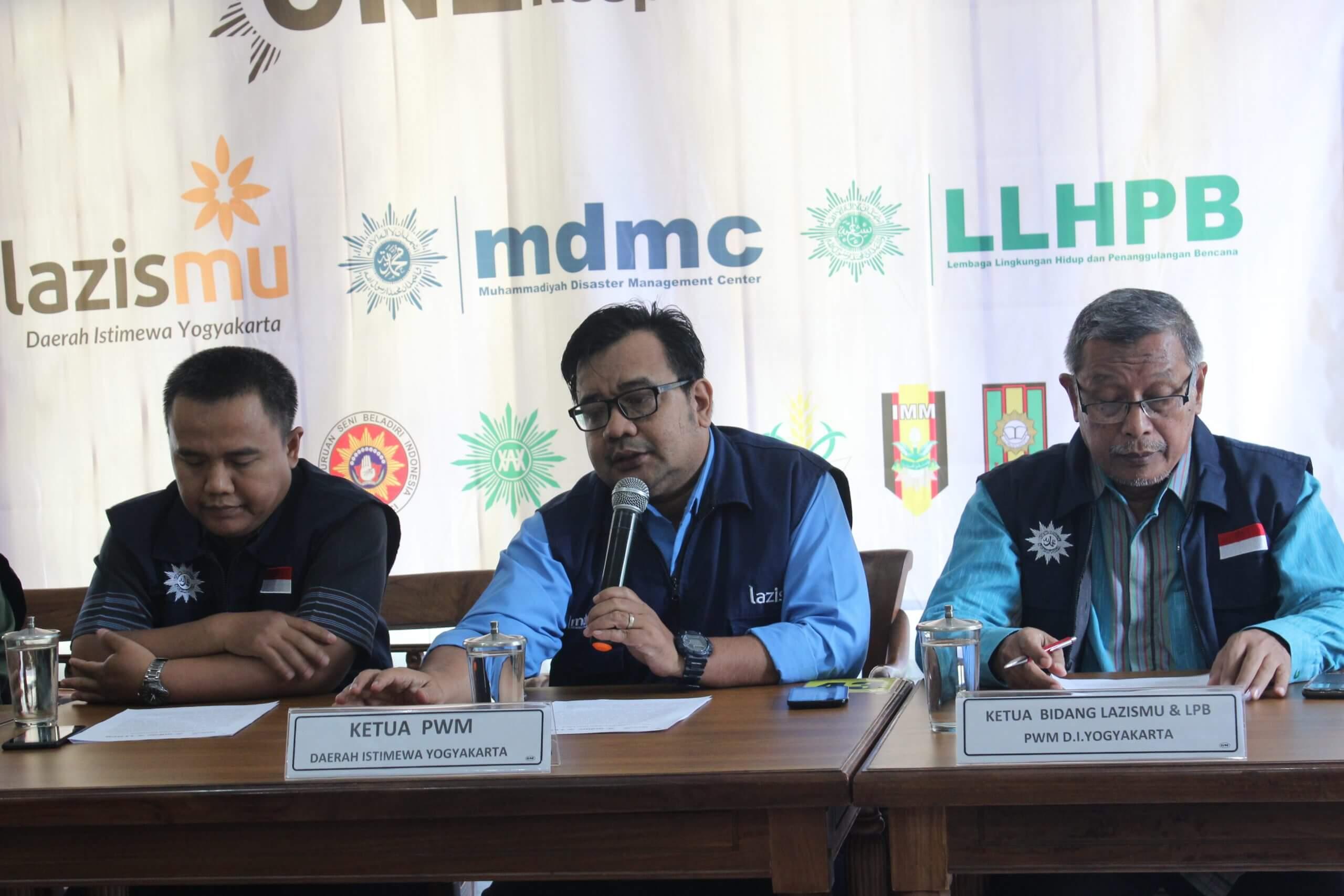 konferensi pres muhammadiyah diy