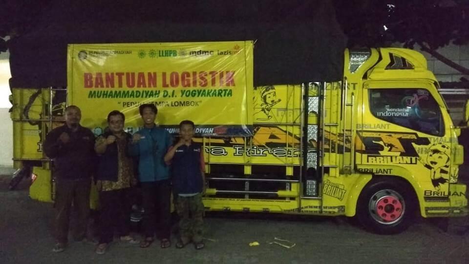 Bantuan Logistik untuk Lombok