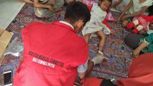 Mariska Gadis Kecil ini Ditangani Tim Kesehatan Muhammadiyah